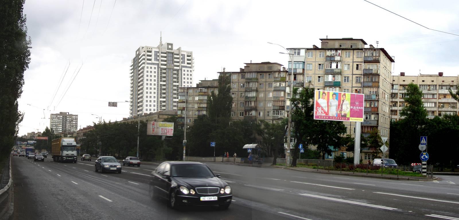 Жилой дом в Днепровском районе на проспекте Соборности