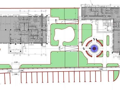 «Гостиный двор Tonio» - генеральный план комплекса