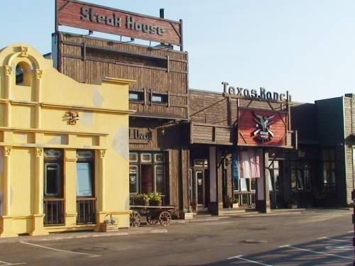 Ресторан для байкеров, рокеров и ковбоев