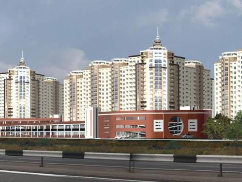 Застройка квартала Олимпийский
