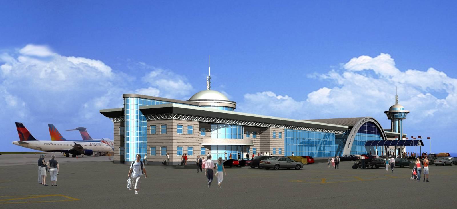 Реконструкция военного аэродрома в Стрые под гражданский аэропорт «Львов-2»