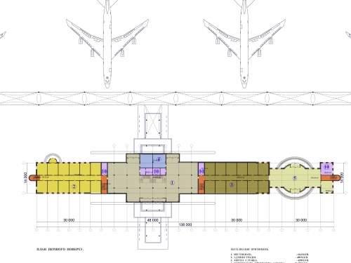 Новый аэропорт для Львова. Пассажирский терминал