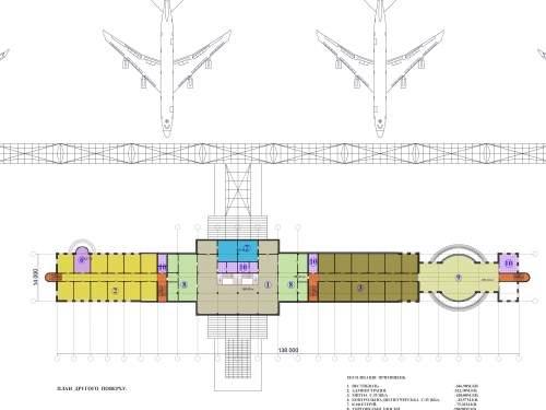 Новый аэропорт для Львова. Грузопассажирский терминал и диспетчерская башня
