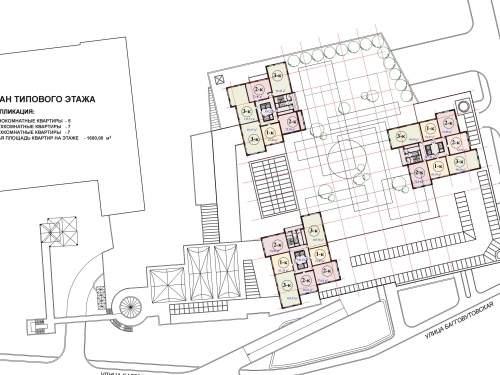 Современный ТРЦ с жилым комплексом на Лукьяновке