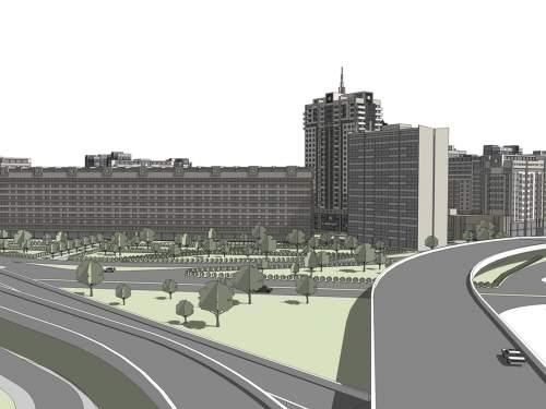 Обновлённая  Дарницкая площадь. Замена кварталов устаревшего жилого фонда в Киеве