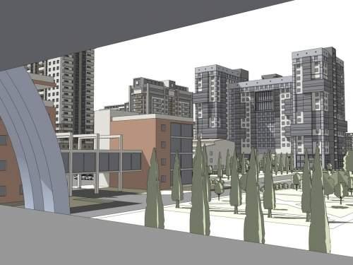 Реконструкция микрорайона в Киеве с заменой устаревшего жилого фонда. Современное жильё в Дарнице взамен хрущёвок