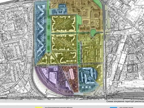 Новый зонинг Соцгородка в Киеве с заменой кварталов устаревшего жилого фонда.