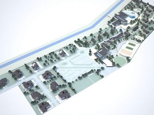 Коттеджный городок в Макаровском районе