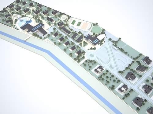 Коттеджный городок на реке Здвиж альтернатива городской жизни