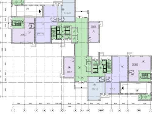 Жилой дом с нежилыми помещениями в комплексной застройке жилого квартала