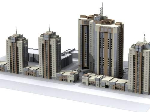 Жилой комплекс в Дарницком районе на Харьковском шоссе